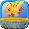Ridiculous Falling Fish Frenzy: A Fishing Dream Image
