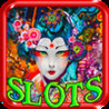 An Oriental Beauty Slots - Play and Win Progressive Chips in a Beauty Saloon Image