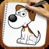 Easy Draw : Nice Dogs Image