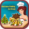 Christmas Pudding Ice Cream Image