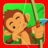 Monkey Beach Balloon Target Bow And Arrow Shooting Game