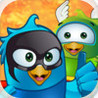 Superhero Birds Flow - Match Two Puzzle Game Image
