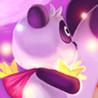 Action Panda Puzzle Image