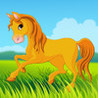 Aaron's cute ponies puzzle for toddlers Image