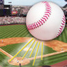 Baseball Game: The Fly Ball Image