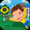 Brazil Ultimate International Football Soccer Penalty Shootout Cup Simulation - Brazilian Edition: Julio Cesar GoalKeeper! Image