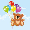 Funny Balloons: Pop Balloons and Bubbles for Kids Image