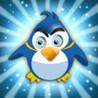 Flying Penguin - Funny Arctic Bird Image