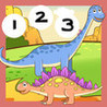123 Count-ing With Dino-saurs: Learn-ing To Count To Ten. My Kid-s & Baby First Number-s Image