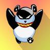 Flyer Panda the paper ninja, destroy attacking aliens Image