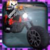 Cube Motorcycle City Roads: Block Racing Games Edition Image
