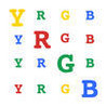 Y-RGB - Letter-Color Brain Teaser Image