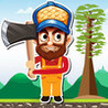 Axe Run - Max The Lumber Jack Timberman Image