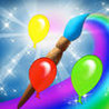 Colors Draw Balloons Magical Drawing Game Image