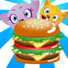 Yummy Burger with Lovely Pet Game Apps-Hungry,Crazy Veggie Games App Image