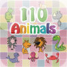 110 Animals - Guess Game. Games for kids: boys and girls. Image