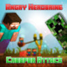 Angry Herobrine: Creeper Attack Image