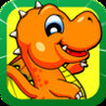 Abe The Dragon - The Cute Bouncy Dragon With Tiny Wings Jumping & Flying Racing Game For iPhone, iPad and iPod touch HD PRO Image