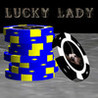 Lucky Lady Poker Chip Pusher HD Image