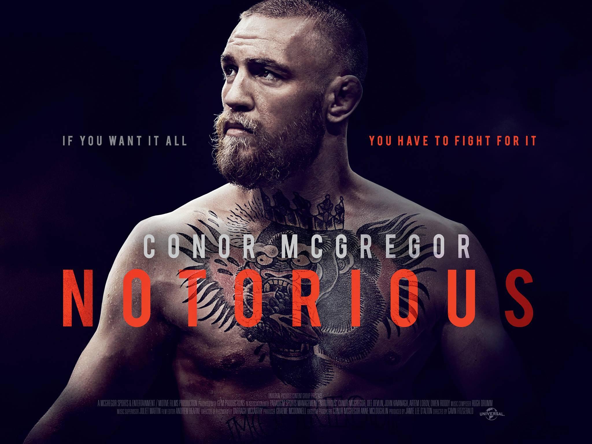 conor mcgregor notorious details and credits metacritic