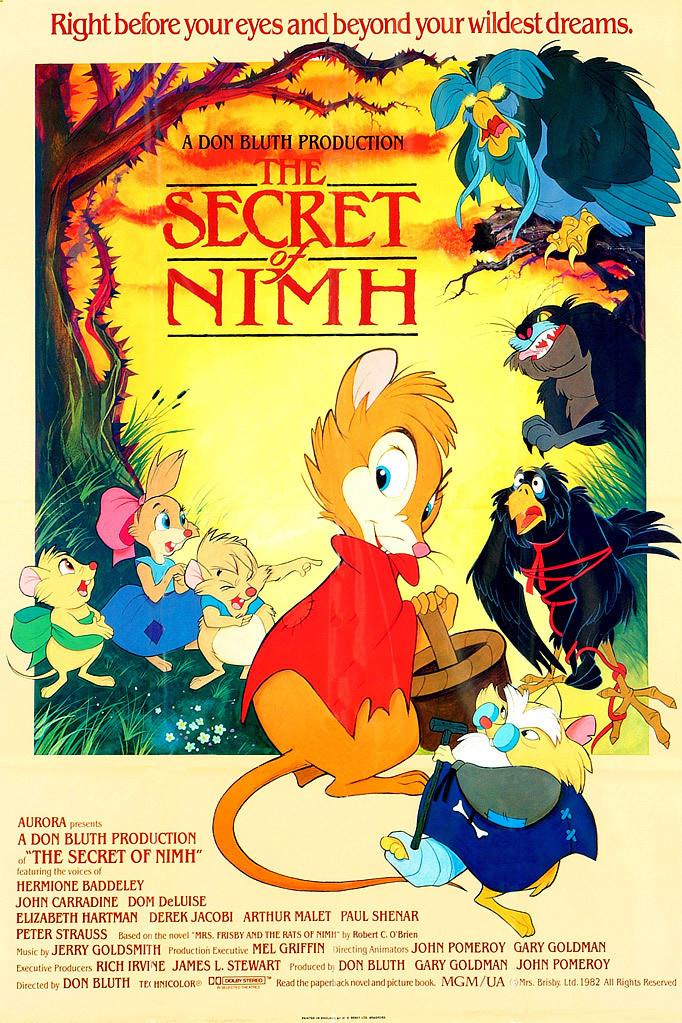 The Secret Of Nimh Details And Credits Metacritic