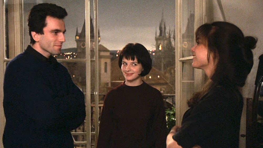 Image result for THE UNBEARABLE LIGHTNESS OF BEING (1998)