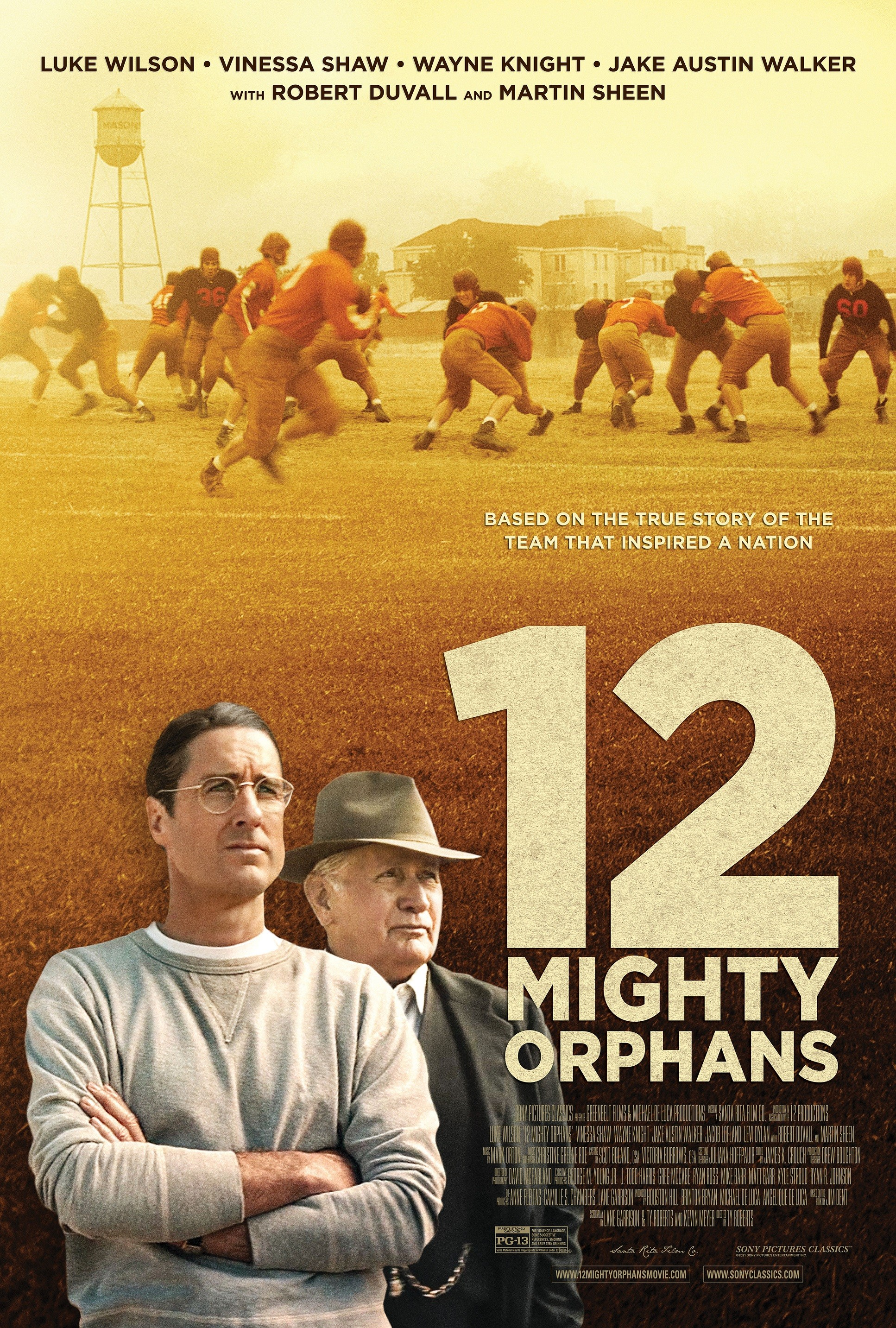 12 Mighty Orphans Details And Credits Metacritic