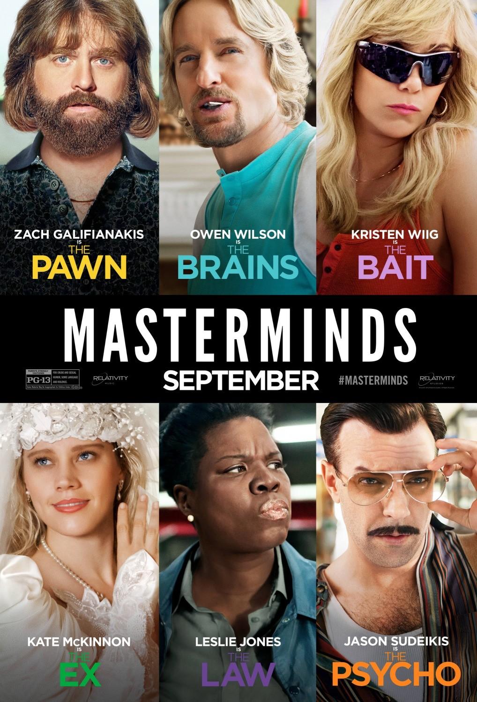 Masterminds Reviews - Metacritic