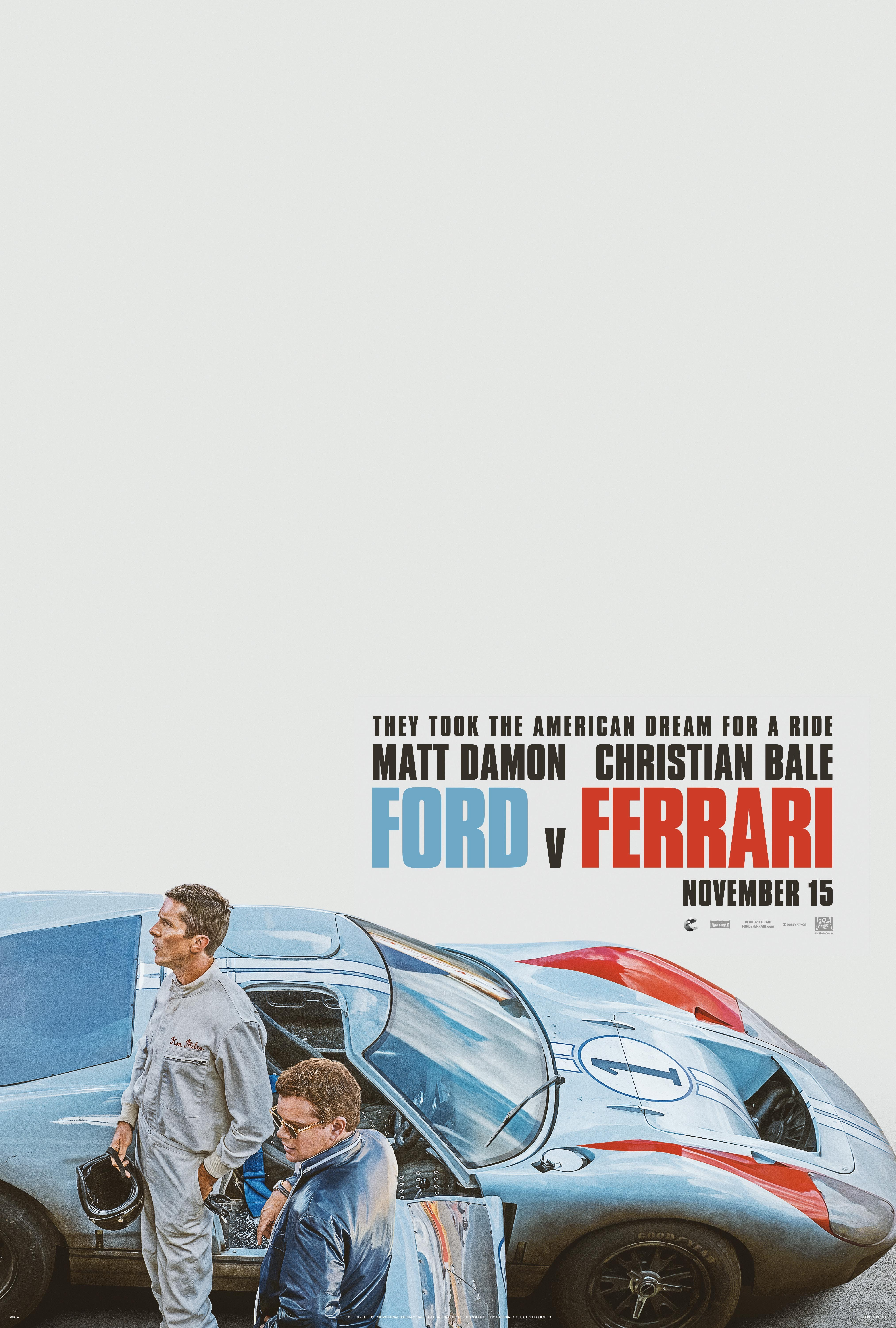 Ford V Ferrari Reviews Metacritic
