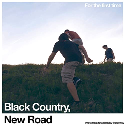 Resultado de imagen de Black Country, New Road - Lp. For the first time 500x500